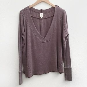 Free People | We The Free Purple Top